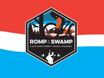 Romp in the Swamp logo