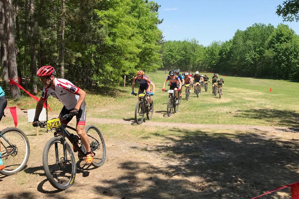 WEMS Wisconsin Mountain Bike Series race