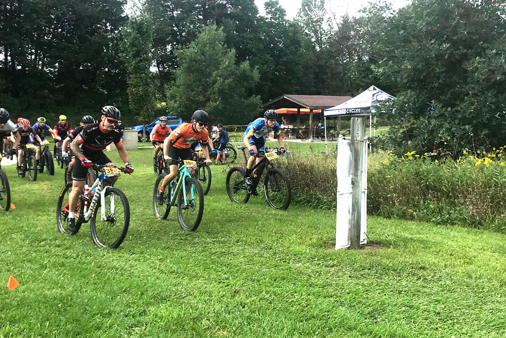WEMS Wisconsin Mountain Bike Series race